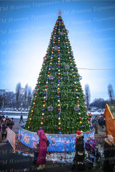 Штучна новорічна 14м , Хвоя-Сосна , м.Кременчуг