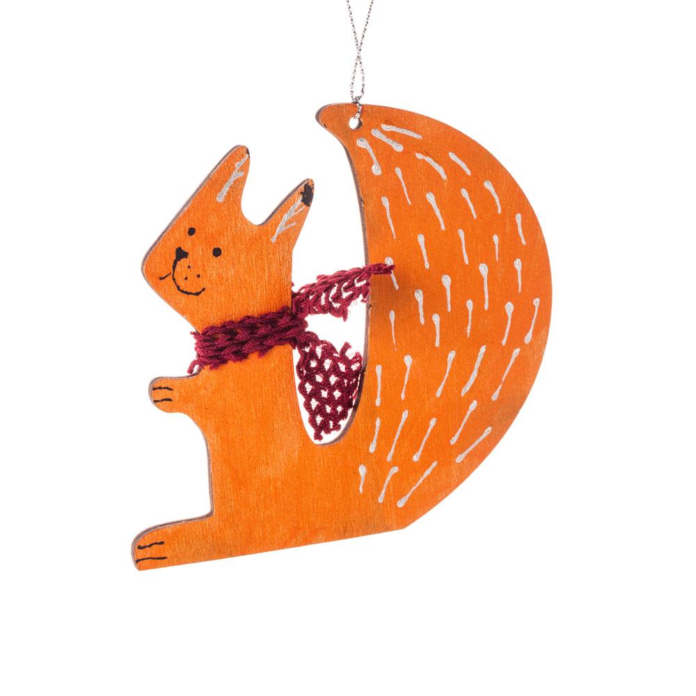Іграшка на ялинку лисиця