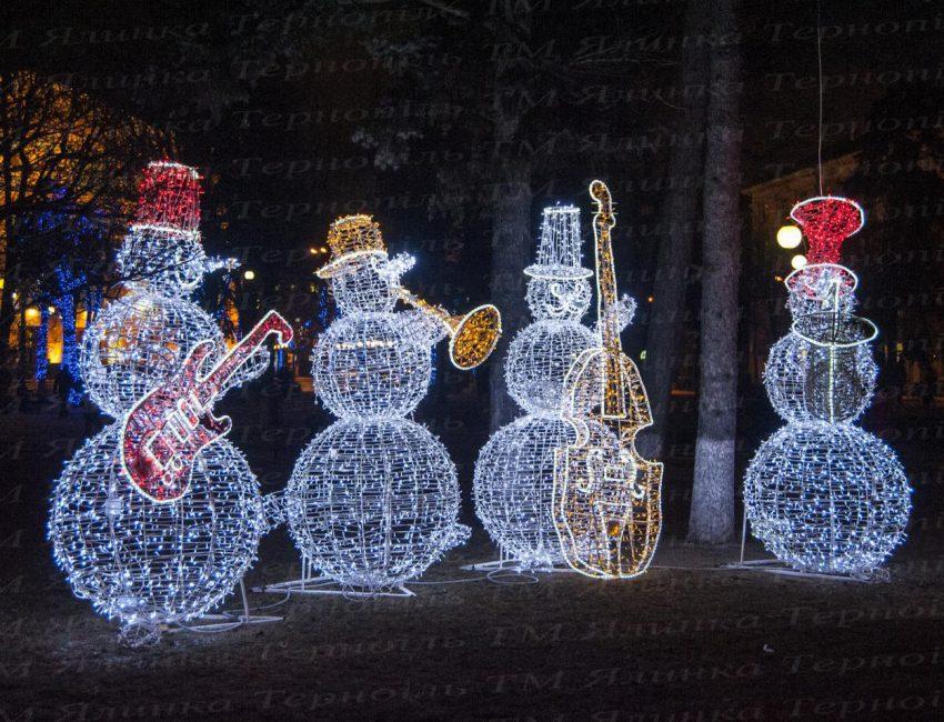 Снеговики музыканты