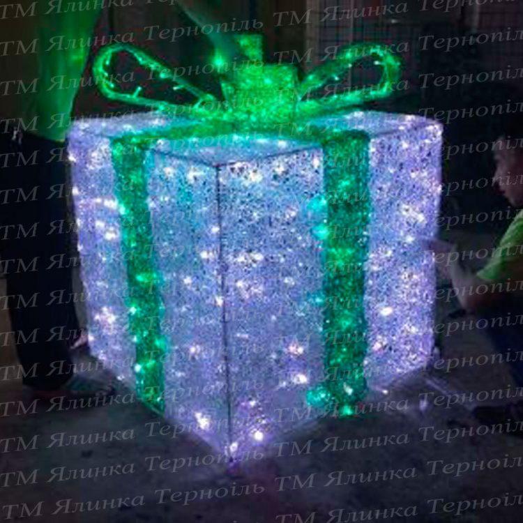 Подарункова коробка з бантом