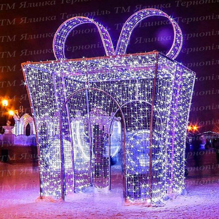 Подарункова коробка арка для закоханих