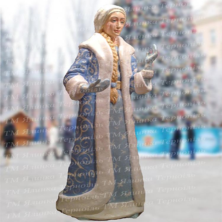 Купити фігуру з акрилу снігурочка