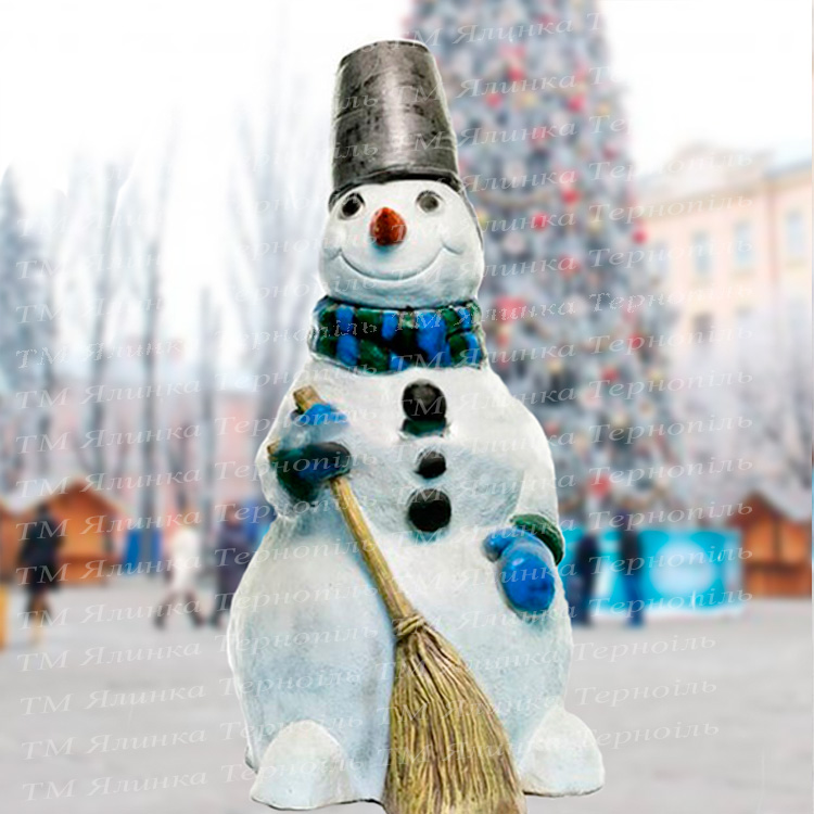 Купити фігуру з акрилу сніговик