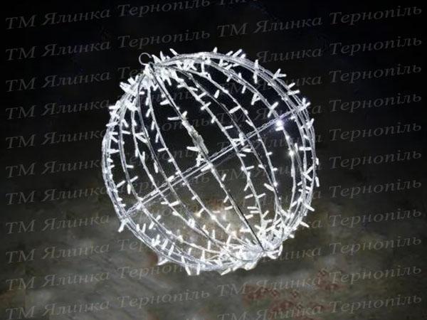 Вариант иллюминации светодиодный шар