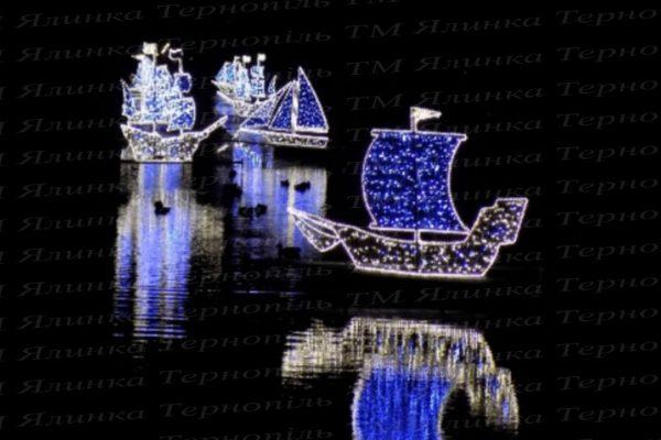 Освещения надводное корабли