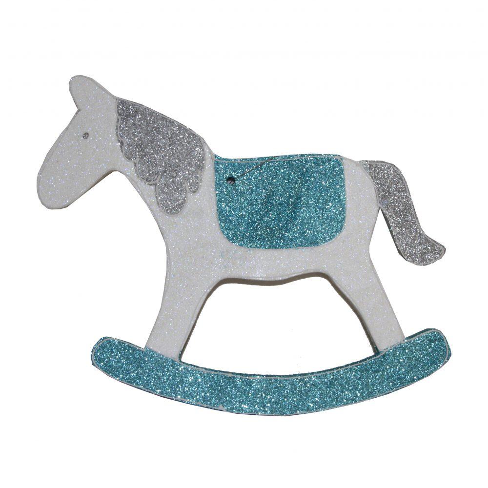 Игрушка на елку лошадь