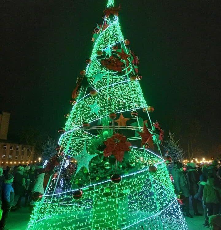 Фигура светодиодной елки